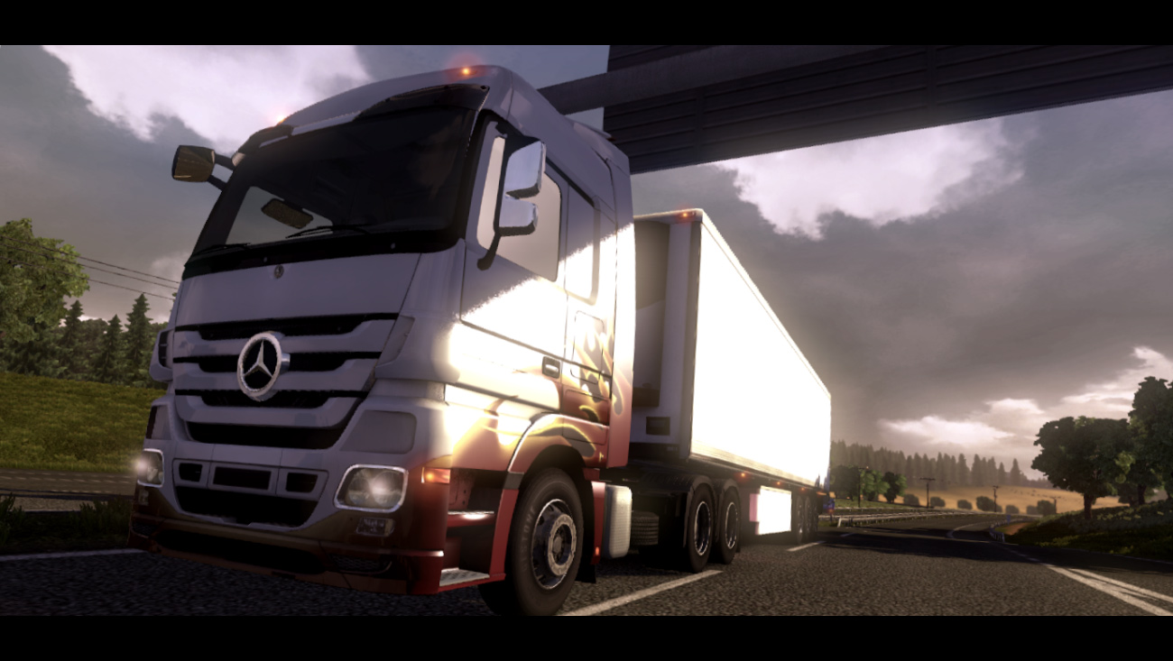 Good news for fans of truck simulator games. Euro Truck Simulator 2