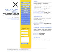 Visita nuestra página www.vuelapluma.eu