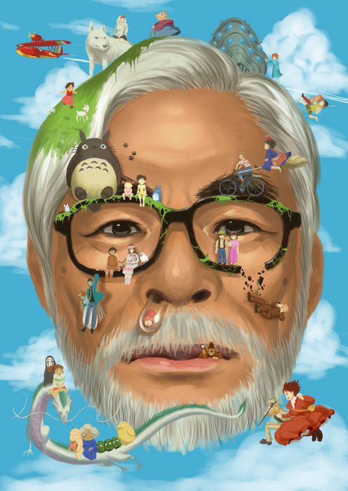 Homenaje a la obra de Hayao Miyazaki