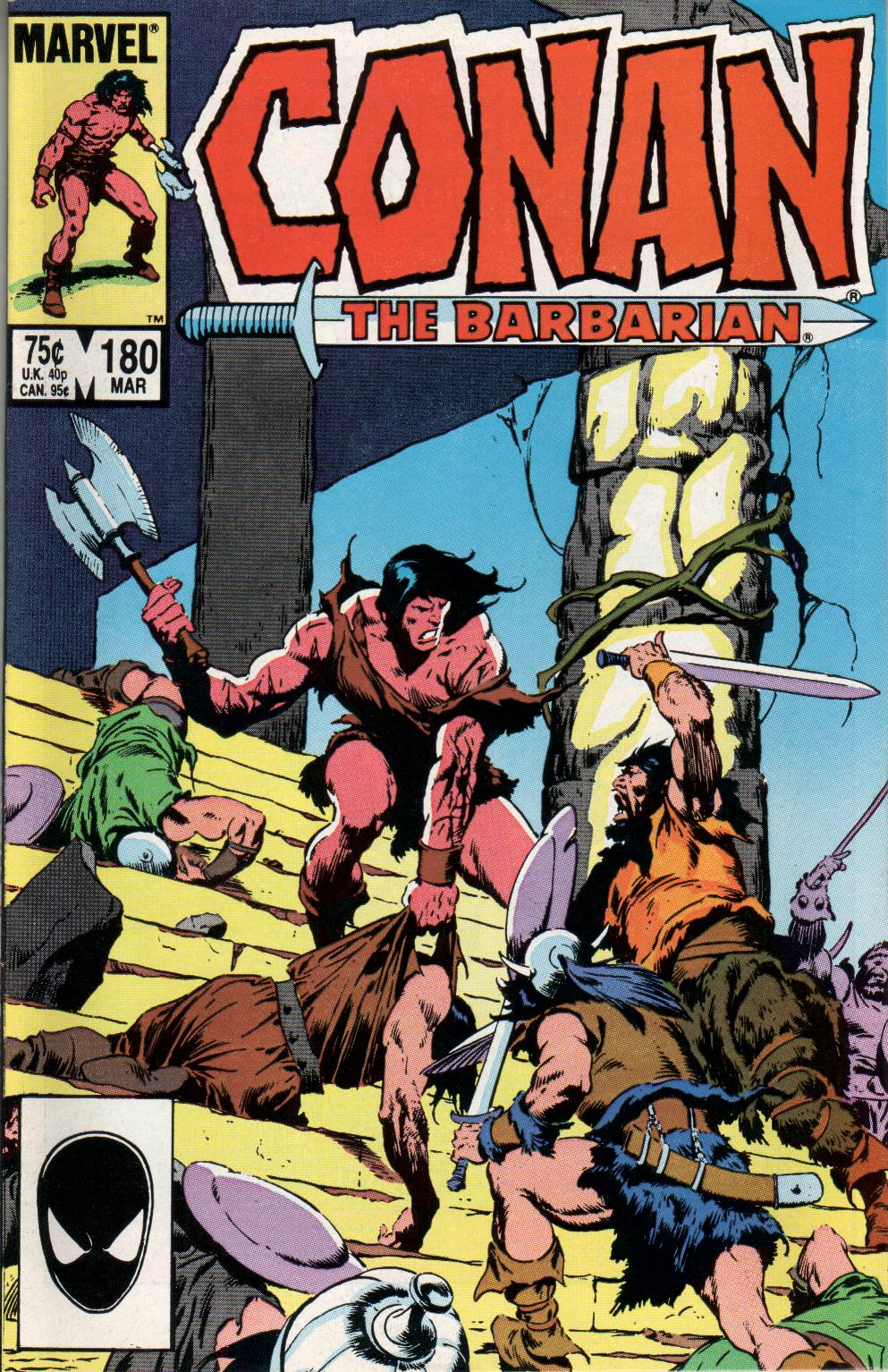 Conan the Barbarian (1970) Issue #180 #192 - English 1