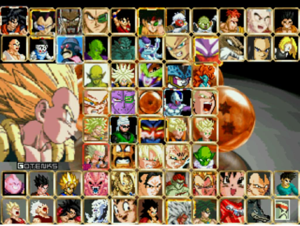 Dragon Ball Z Mugen Edition 1 Game