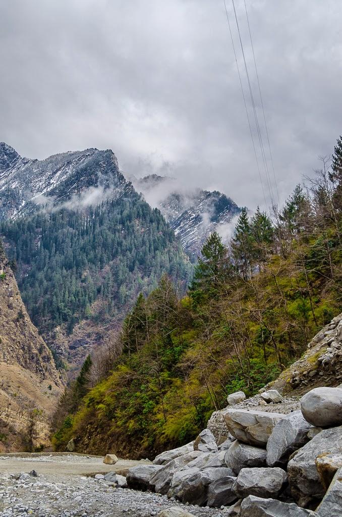 Himalayan scenery, himalayas