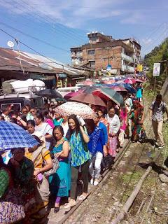Kurseong Unit Gorkha Janmukti Morcha (GJM) Celebrates 9th Foundation Day