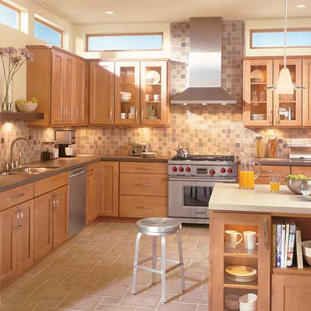 Cabinets for kitchen most popular wood kitchen cabinets for Popular kitchen designs
