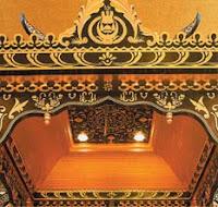 Interior in Brunei Palace
