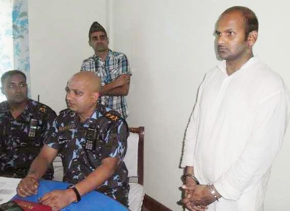 मिथिला बम काण्डक मुख्य अभियुक्त गिरफ्त मे