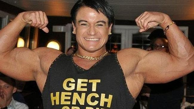 bodybuilder penis Female with