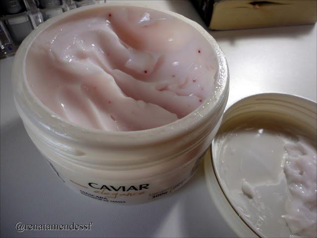 Máscara de caviar