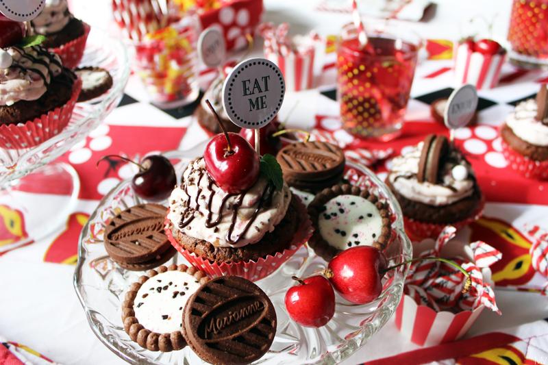 ♥ Herkkuhaaste: Suklaiset marianne-kirsikkamuffinssit