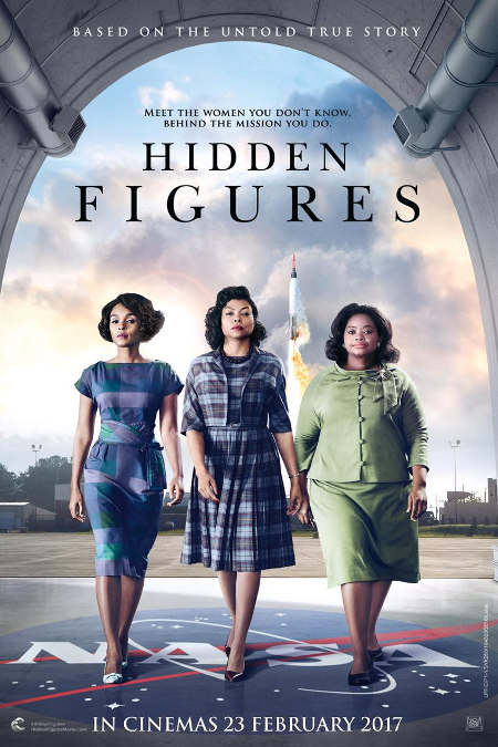 (OSCAR 2017 SELECTION) 23 FEBRUARY 2017 - HIDDEN FIGURES (ENGLISH)
