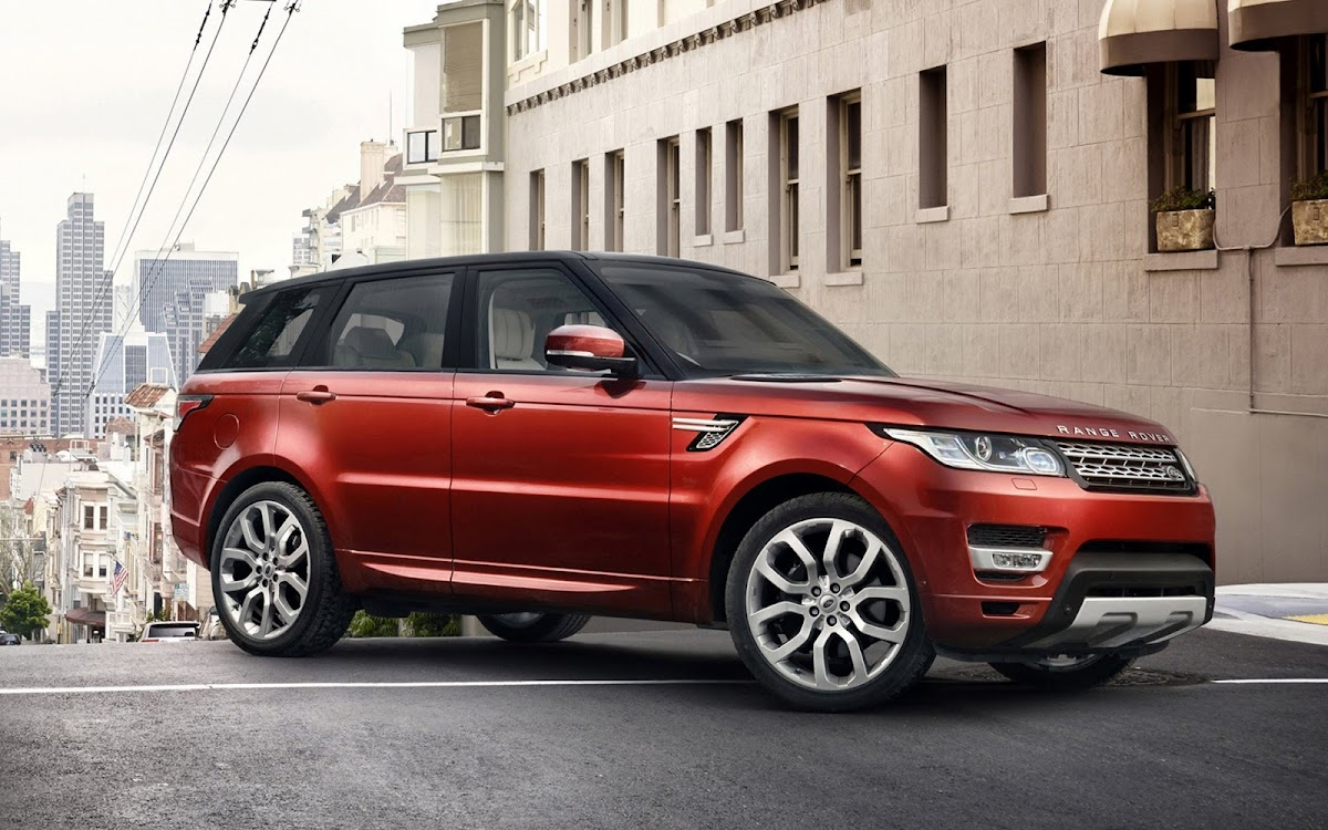 2014 Range Rover Sport Widescreen HD Wallpaper 2
