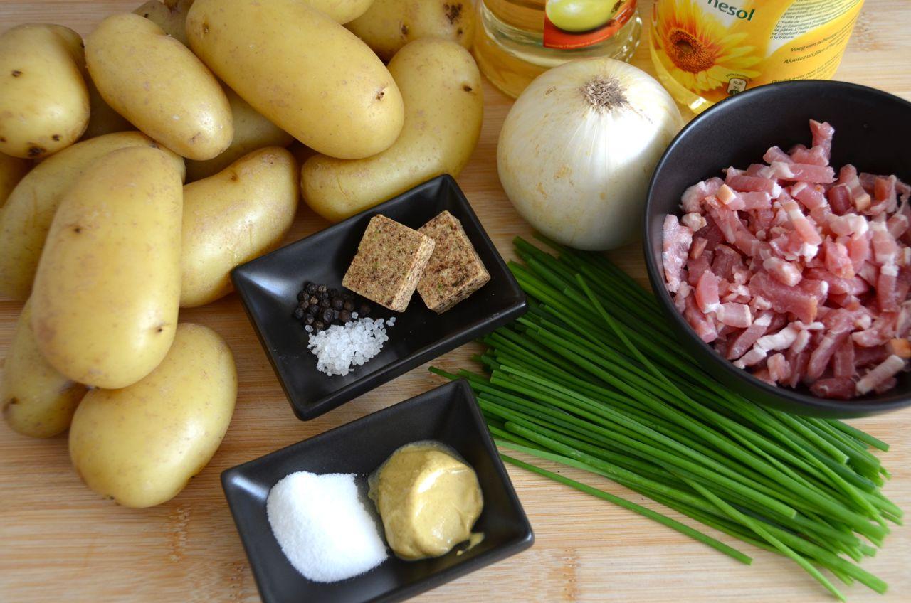 pizza zum fr hst ck bayrischer kartoffelsalat. Black Bedroom Furniture Sets. Home Design Ideas