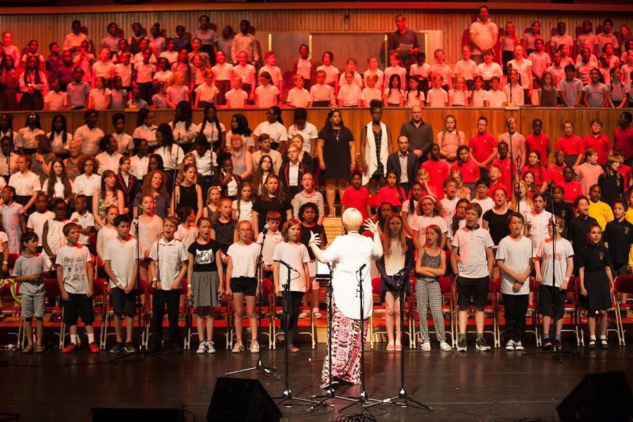 Royal Greenwich Young musicians hit the high notes at the Royal Festival Hall