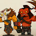 Dota 2 wallpaper Wallpaper JUGGERNAUT AND AXE MINIMAL Dota 2 HD