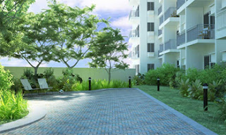 Landscaped Area at Avida Towers San Lorenzo