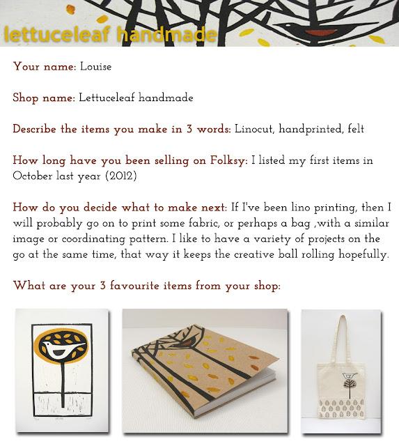 Lettuceleaf Handmade Folksy shop