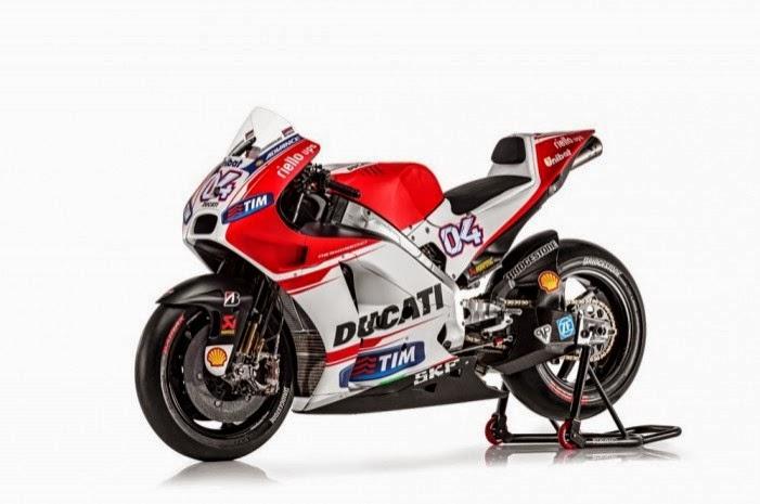 Kenapa Ducati Desmosedici kencang di test pramusim Losail?