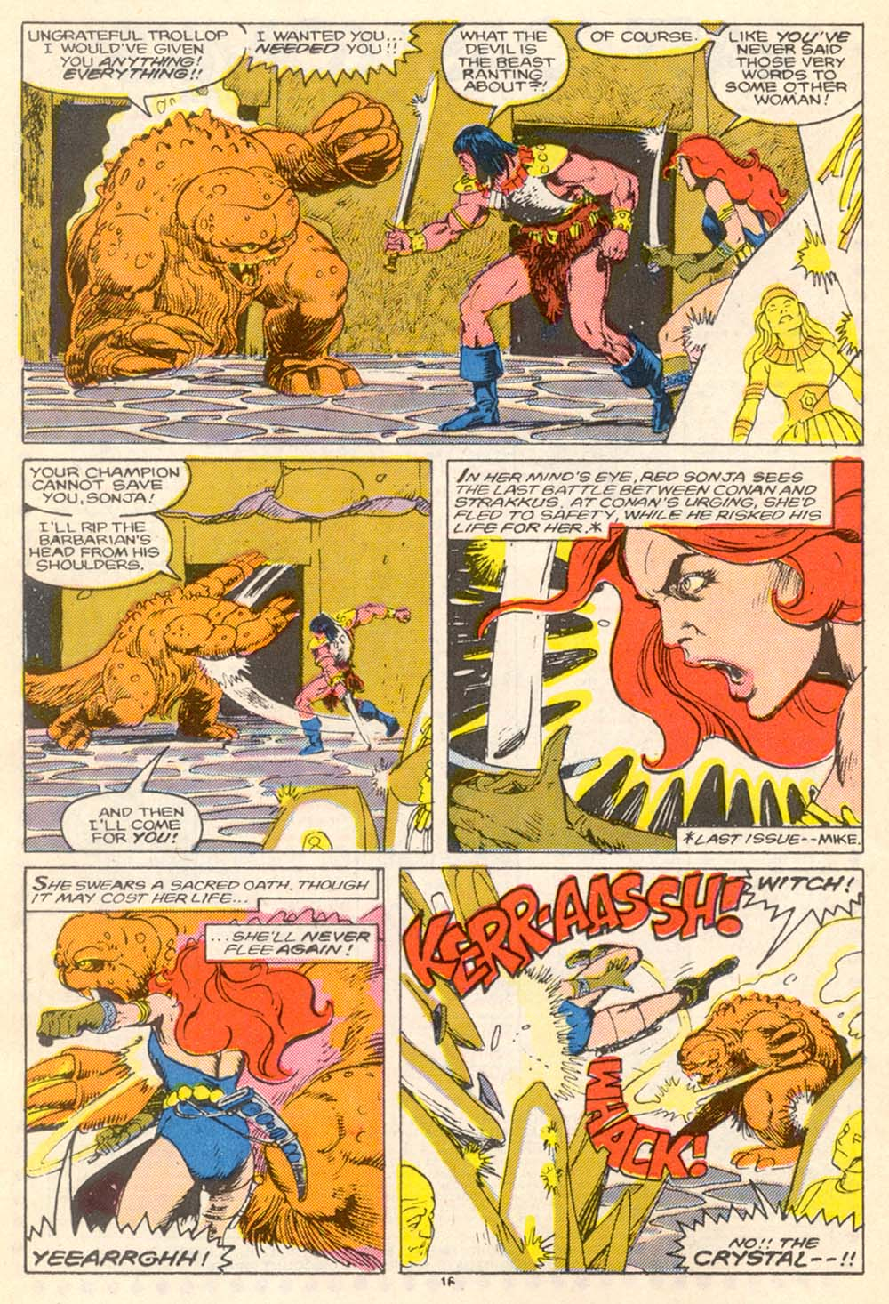 Conan the Barbarian (1970) Issue #205 #217 - English 17