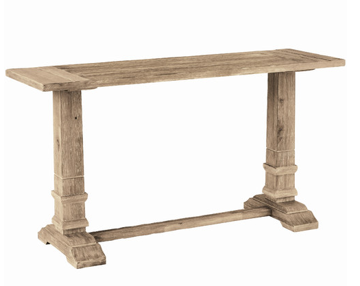 Foyer Table Restoration Hardware : Restoration hardware trestle console table decor look alikes