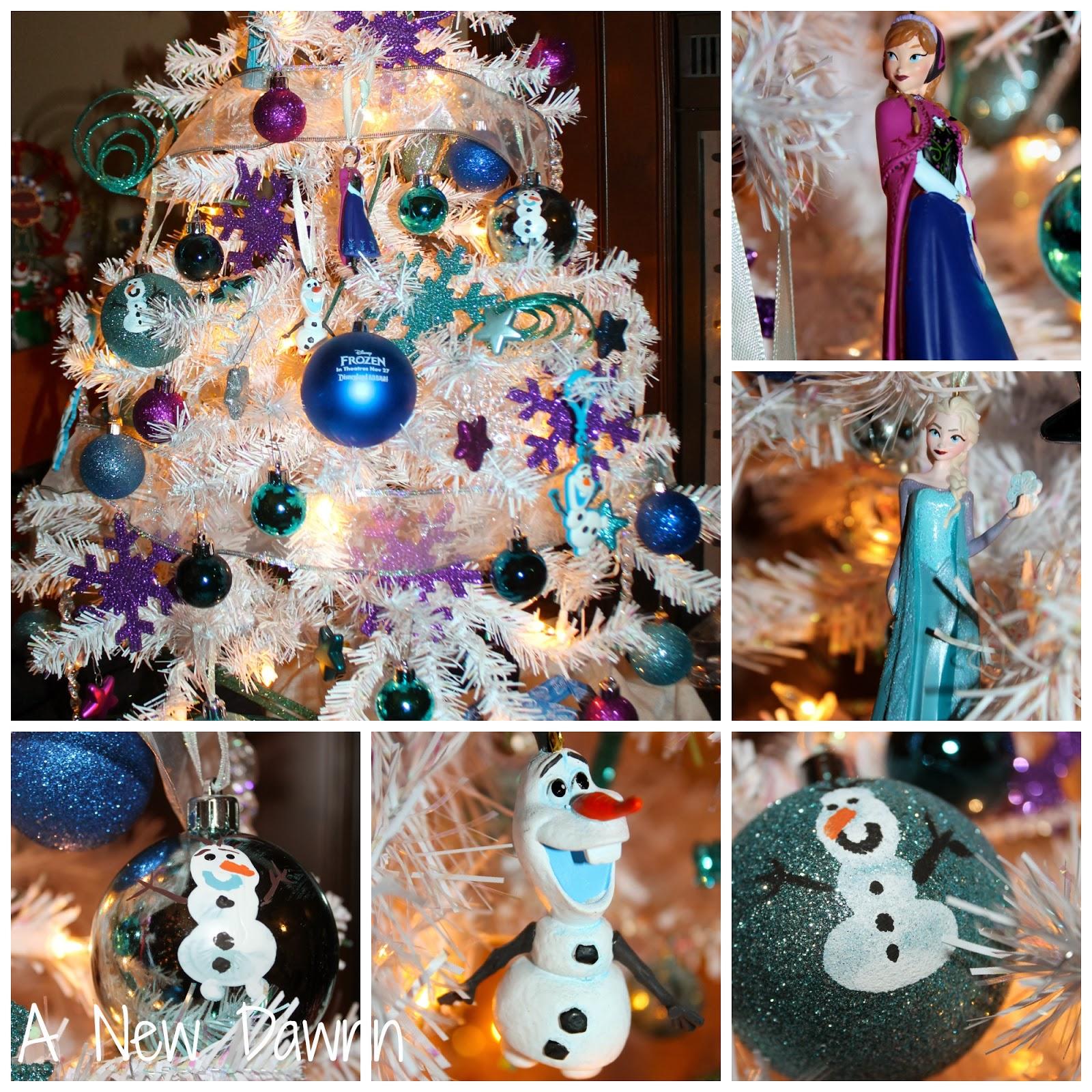 Christmas Tree Ideas For Frozen : A new dawnn disney frozen christmas tree make your own
