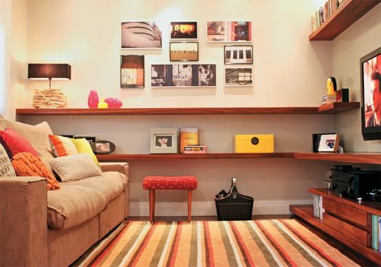 Decorar Sala Pequena De Tv ~ foto+de+decoração+para+sala+pequena2jpg
