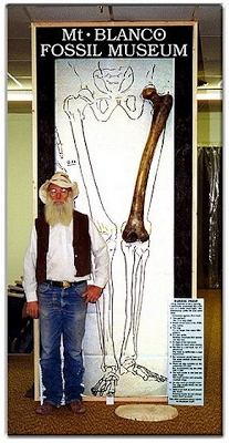 Turkey giant femur ancient legend