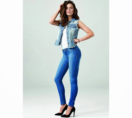 Calzedonia Denim leggins push up