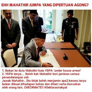 Mahathir Terpaksa Mengadap Agong Atau 'Jatuh Air Muka' – Dr Salleh Said Keruak
