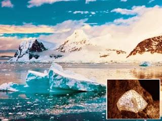berlian ditemui di antartika
