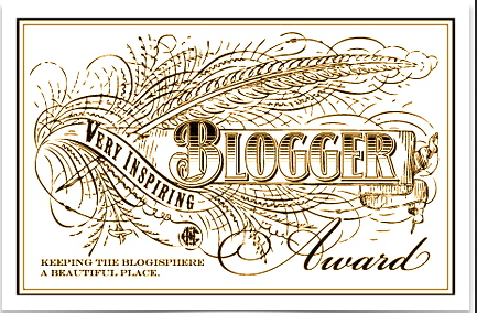 Very Versatile Blogger Award