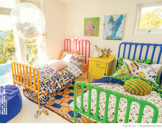 Awesome Next a joyous colour filled shared kids u bedroom