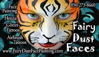 FairyDust Face Painting Logo
