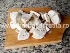 Ciuperci cu smantana preparare reteta