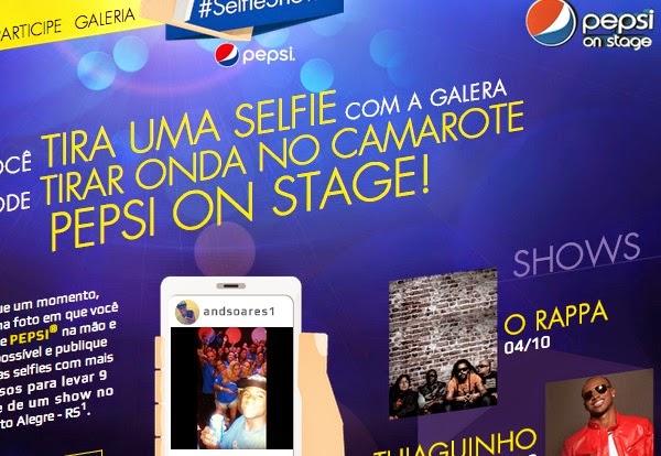 """Promoção """"Selfie Show"""" - Pepsi -"""