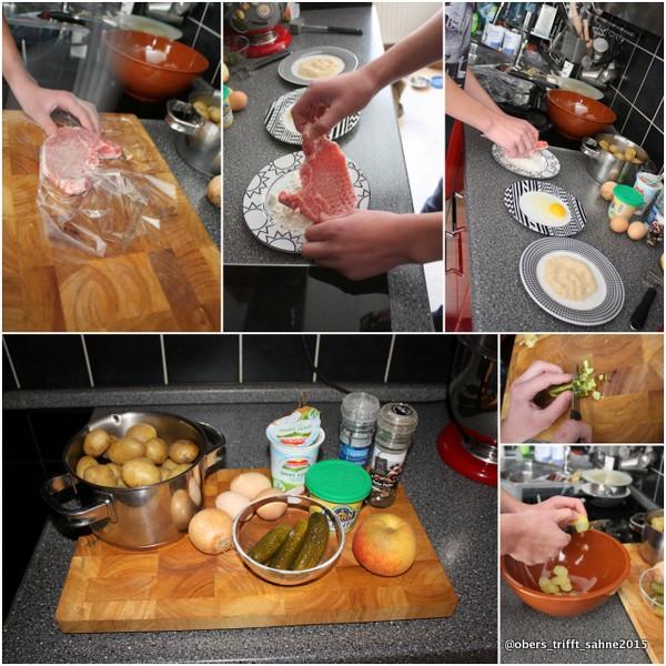 Junior Cooking Kotelett und Kartoffelsalat