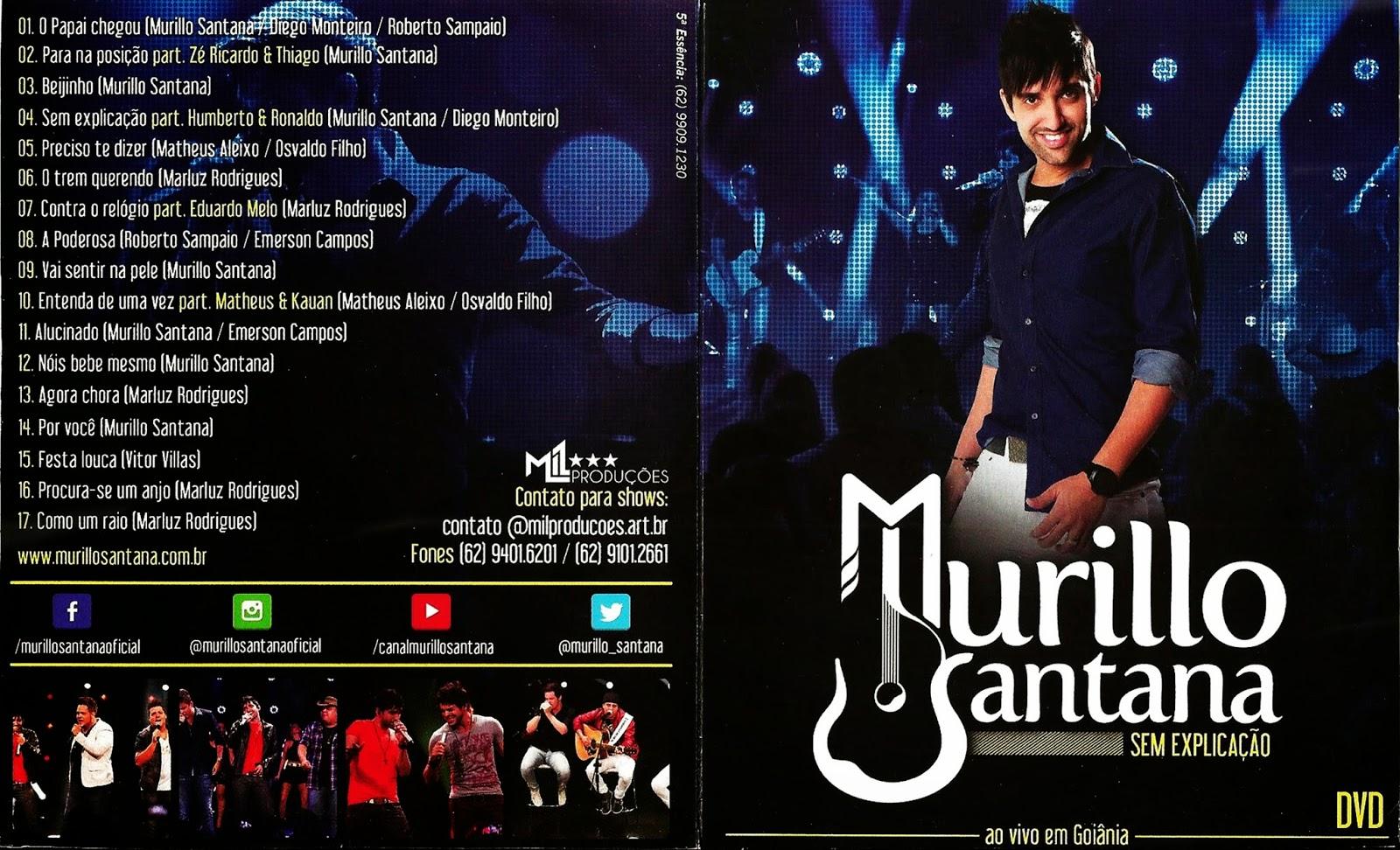 capa Download – Murillo Santana   Sem Explicação Ao Vivo em Goiania – DVDRip AVI + RMVB  ( 2014 )
