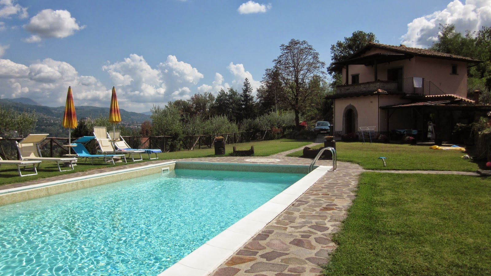 Villa La Borracia in Tuscany, Italy