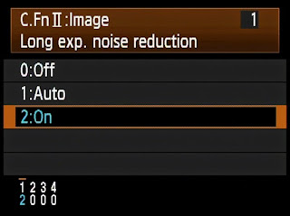 long exposure noise reduction