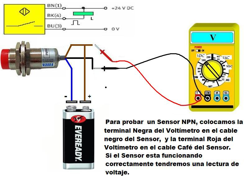 Como probar los sensores de proximidad dircasa - Como conectar un sensor de movimiento de tres cables ...