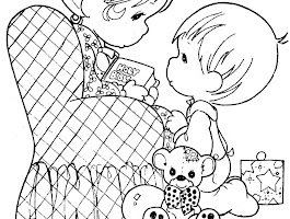 Religious Valentine Coloring Sheets