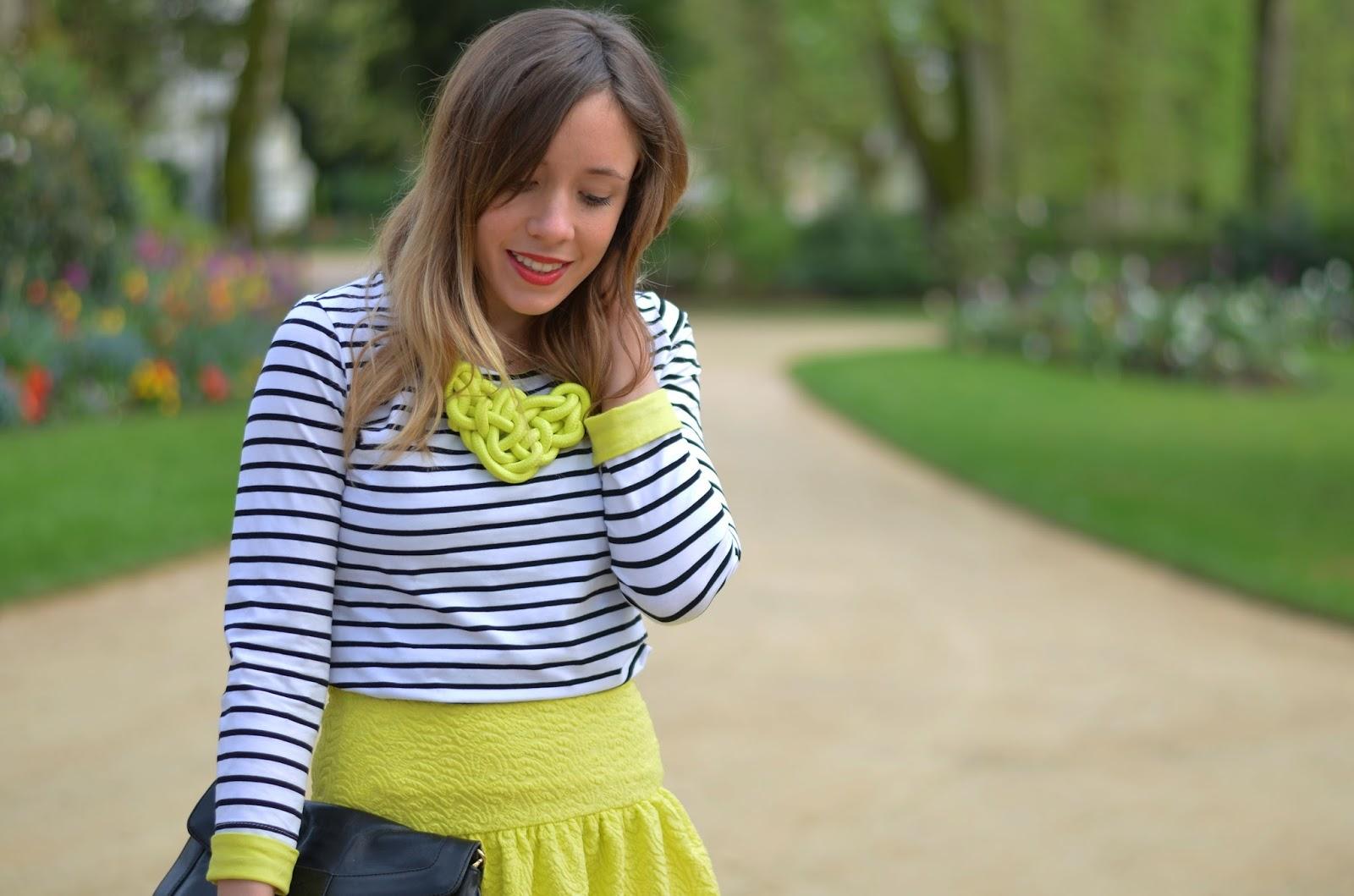 tendance mode jaune fluo