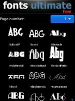 Mengganti Font/huruf BlackBerry Gratis