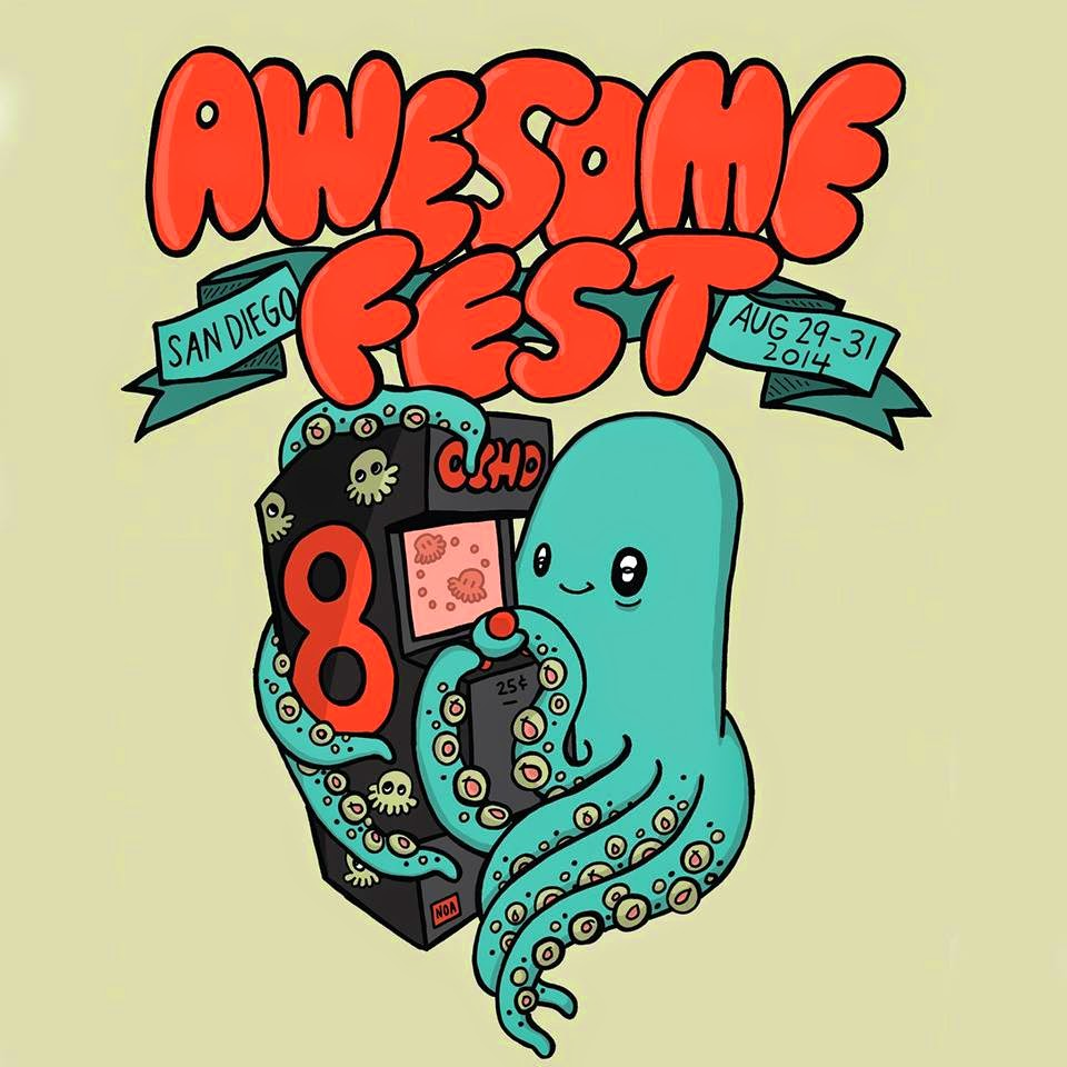 We're playing Awesome Fest 8!