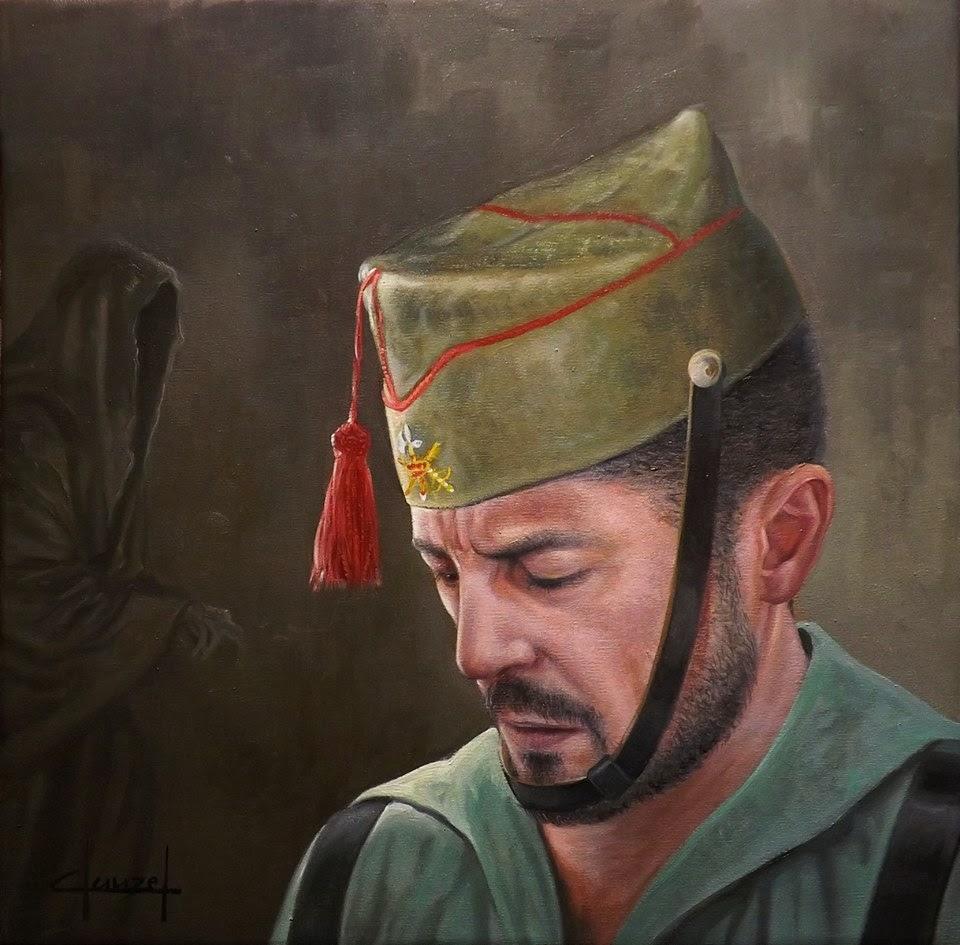"""HISTORIA """"EL NOVIO DE LA MUERTE"""" LA CANCIÓN DE LA LEGIÓN"""