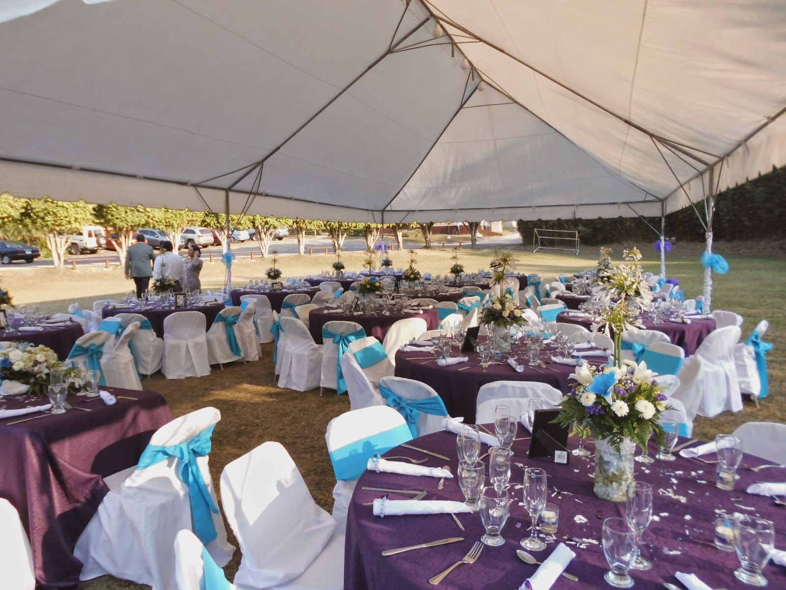 Mesa de recepción de boda, decoración