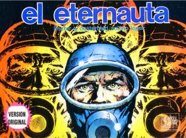 comic, argentino, eternauta, portada, original, extraterrestre, novela gráfica, buenos aires, viajes en el tiempo
