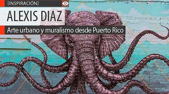 Arte urbano y muralismo de ALEXIS DIAZ
