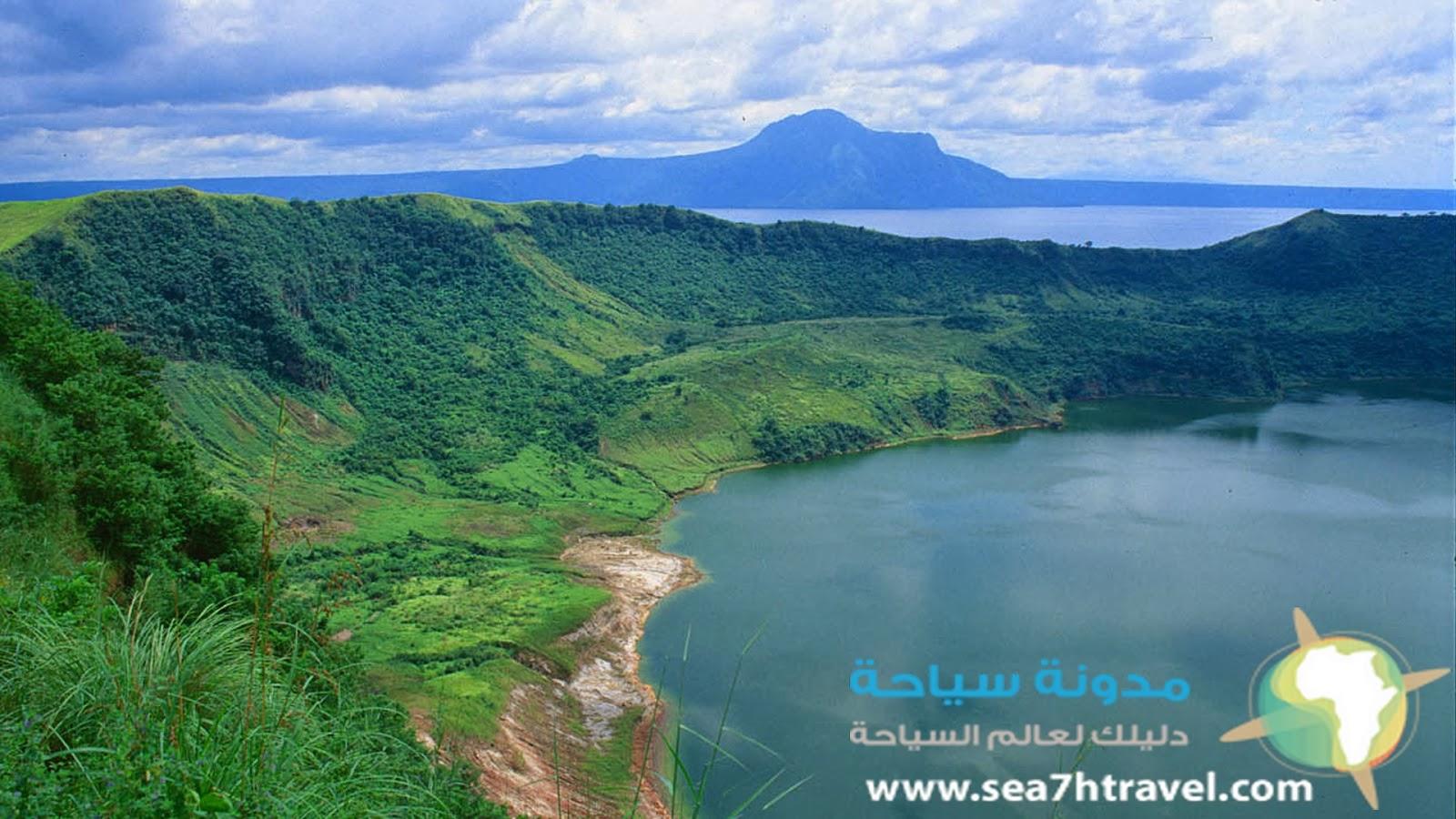 منطقة تال في الفلبين طبيعة ساحرة
