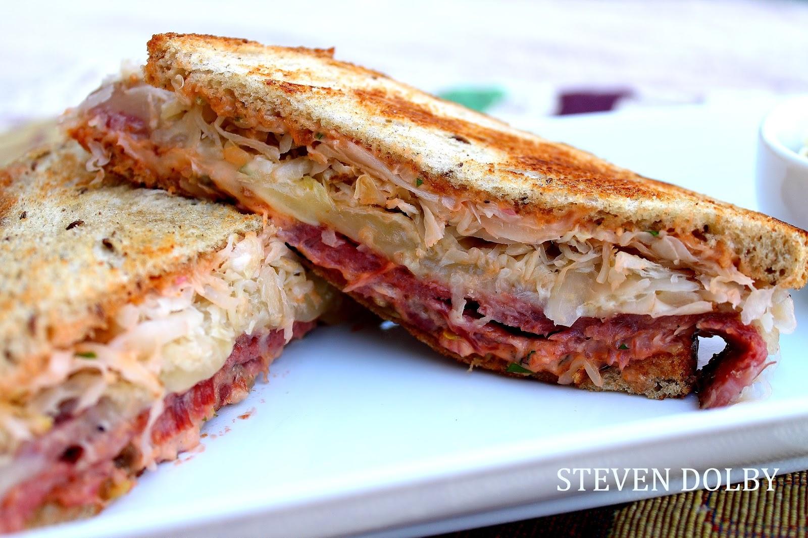 Reuben Sandwich by Steven Dolby