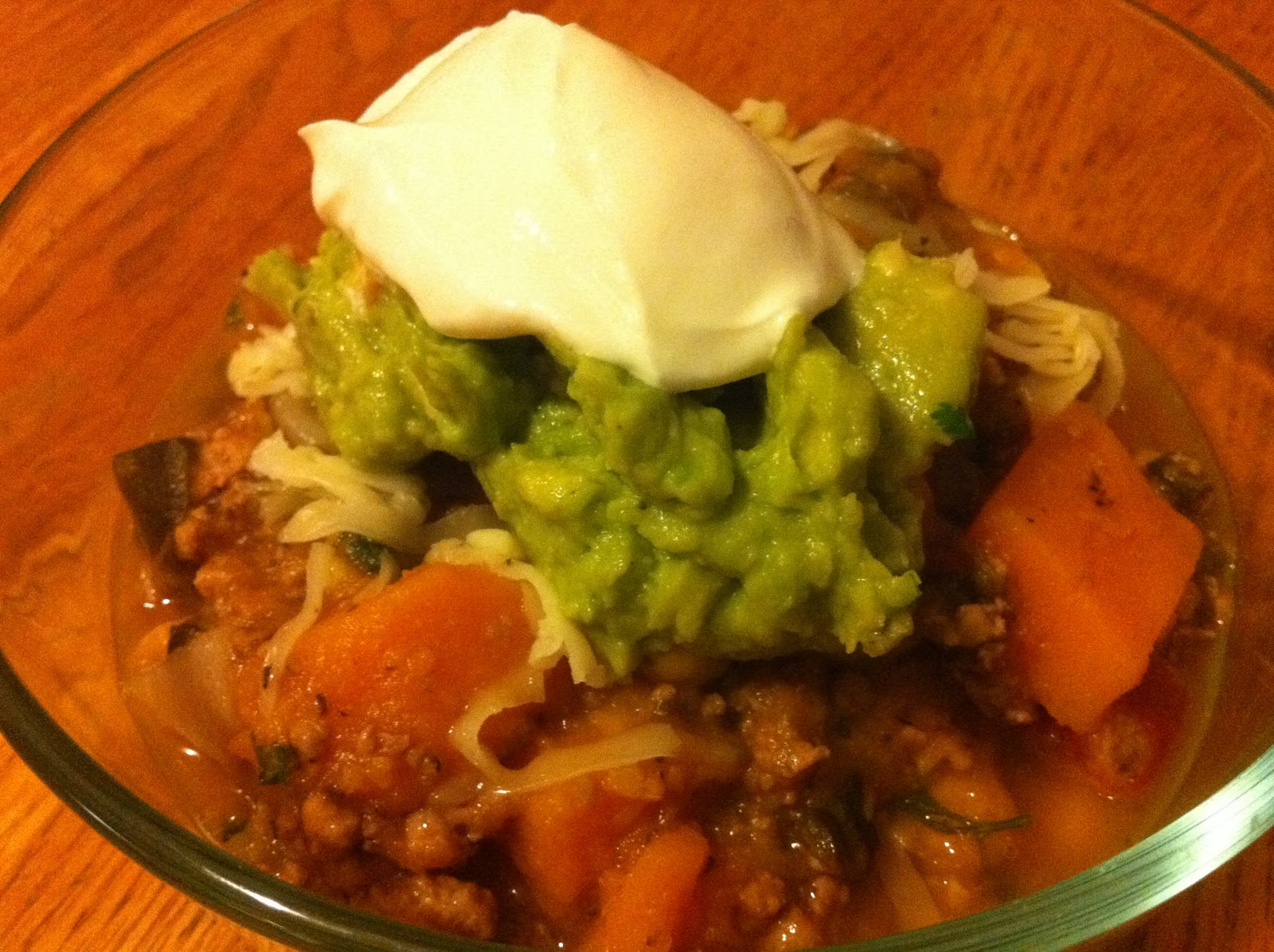 Dillan DiGiovanni, CHC: Turkey Chili Verde with Butternut Squash ...
